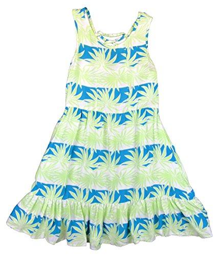 Maui Clothing Girls Palm Shade Zara Dress (14, - Shades Maui