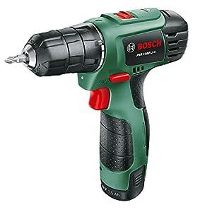 Bosch Perceuse sans fil psr 1080, 1 batterie 10,8V 1,5ah, technologie syneon 06039A2100