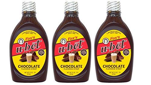 (Fox's U-bet 22-oz. Original Chocolate Syrup (Pack of 3))