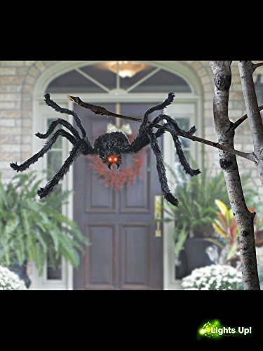 [Morris Costumes SS88163 Animated Black Spider 49 Inch] (Black Spider Animated Prop)