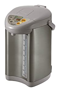 Zojirushi CD-JWC40HS Water Boiler & Warmer 4 L Silver Gray