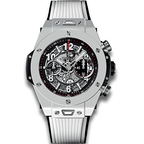 Hublot Big Bang UNICO Mat Black Dial Ceramic Chronograph Mens Watch 411.HX.1170.RX