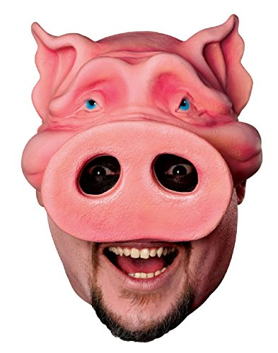 Adult Pig Boy Chinless Mask (Pig Boy Chinless Mask)