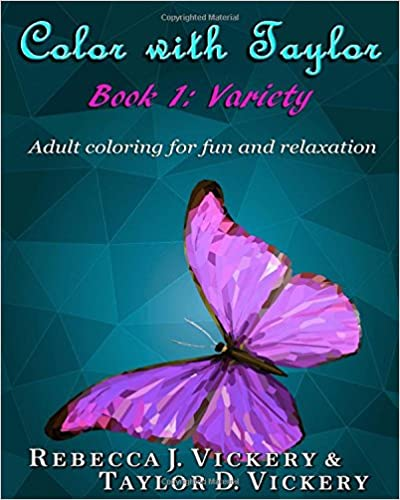 Color with Taylor: Book 1: Variety