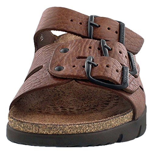 1854dbb399ed Details about Mephisto Men s Zach Tan Full Grain Leather Sandal - Choose  SZ color