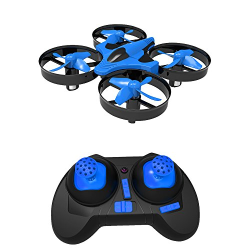 Nano Drone SKYKING Nano Mini UFO Quadcopters with 360 Degree Flips & Headless Mode 6-Axis Gyro for Kids and Beginner to Play