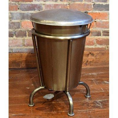William Sheppee Sln701N Wastebasket 13 Gallon Nickel
