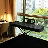 Best Keyboard With Stand Covers - Clairevoire Digital Piano Cover for Yamaha DGX 660/650/640 Review