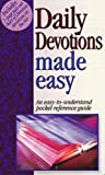 Daily Devotions Made Easy, Mark Water, 156563103X
