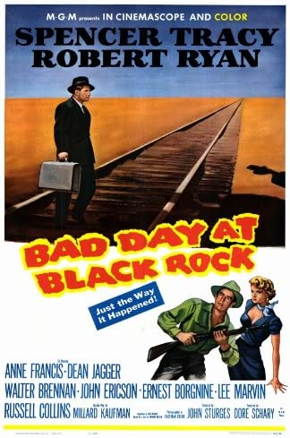 Amazon.com: 27 x 40 Bad Day at Black Rock Movie Poster: Posters & Prints