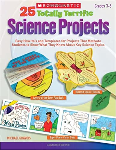 Amazon com: 25 Totally Terrific Science Projects: Easy How