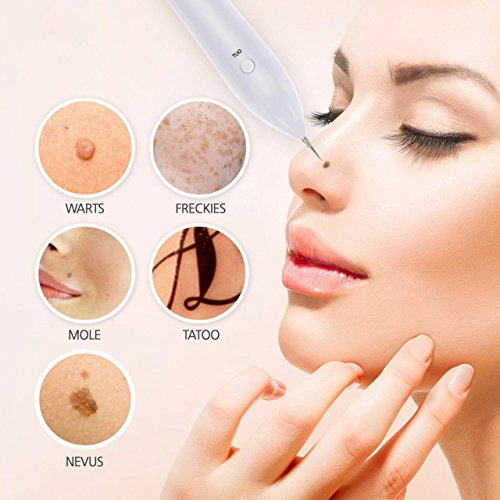 Skin care Sets & Kits Mole Removal Pen USB Rechargeable Portable Skin Tag  Removal Pen No bleeding Set For Body Facial Freckle Nevus Warts Age Spot