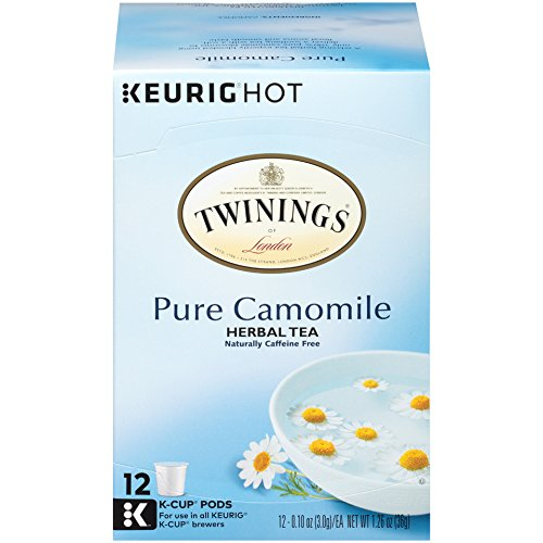 Twinings of London Pure Camomile Tea K-Cups for Keurig, 72 Count