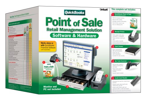 QuickBooks Point-of-Sale Pro Multi-store with Hardware Bundle 6.0 [OLDER VERSION]