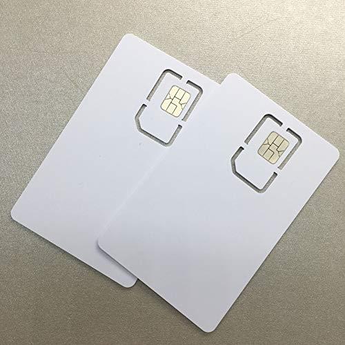 (Writable Programmable Blank SIM USIM Card 4G LTE WCDMA GSM Nano Micro SIM Card 2FF 3FF 4FF for Telecom Operator by XCRFID)
