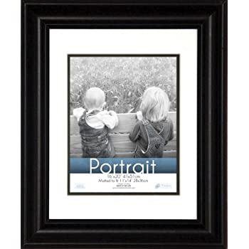 Amazon Golden State Art 16x20 Brown Border Photo Frame With