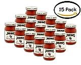 PACK OF 15 - Jardine's Ghost Pepper Salsa Hot 16 oz