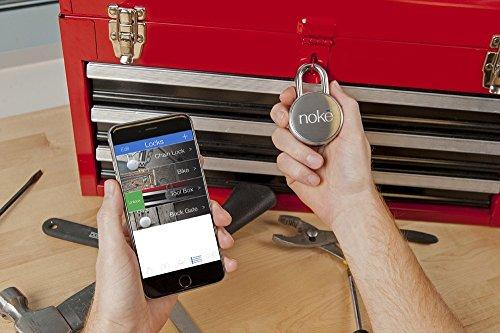 Noke Bluetooth-Vorhängeschloss ohne Schlüssel