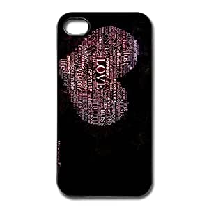 Pure Affection Non-Slip Case Cover For IPhone 4/4s - Geek Case