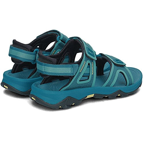 The North Face Women's W Hedgehog Ii Sports Sandals, Black Blue (Blue Coral/Bristol Blue 4nr)