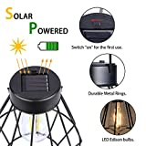 Solar Lantern Outdoor Hanging Vintage Solar Table