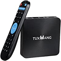 2017 New TV Box with WIFI Android TV BOX Quad Core HD Smart Video Player,H.265, OTT TV BOX by TUXWANG
