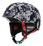 Smith Optics Holt Snow Helmets, Black And White Photog, X-Small, Outdoor Stuffs