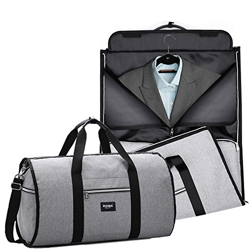 RUIMA Travel Garment Bag With Pocket, Mens Garment Bag Folding Design For Business  Trip Or Other Formal Occasion. Hanging Garment Bag   Carryon Garment Bag ... 8c34366e1a