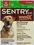 Sentry HC WormX Dog Dewormer, Large Dog, 12ct