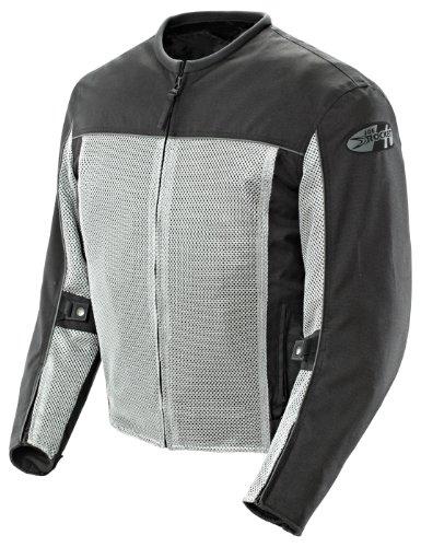 JOE ROCKET VELOCITY MENS FREE-AIR MESH MOTORCYCLE JACKET grey/black (Velocity Motorcycle)