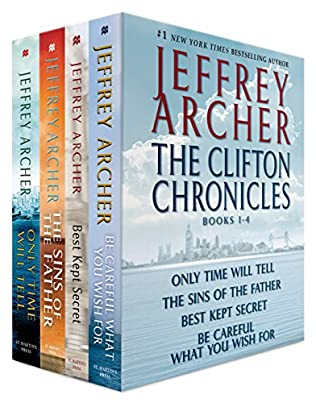 book cover of The Clifton Chronicles Books 1-4