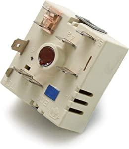 NEW WB24T10153 Infinite Switch Compatible for GE Range made by OEM Manufacturer Primeco, PS2339825, AP4363783, WB27T10384, 1473855-1 YEAR WARRANTY