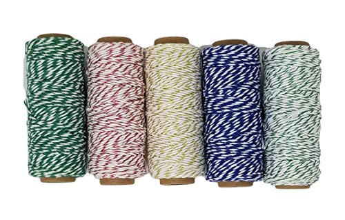 Baker's Twine Metallic Set with Woven-in Gold Filament, 250 Yards ()