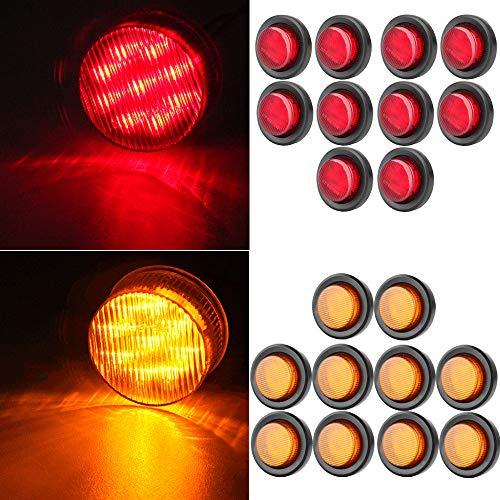 OCPTY 9LED Side Marker Light 10pcs 2