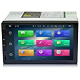 motiveabc MA-760 Pure Android Eight Core Car Stereo Double Din GPS Navigation 1080p HD Full Screen DVD Player