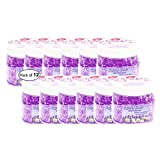 Pure Air Crystal Beads Air Freshener- Lavender Chamomile (225g) (Pack of 12)