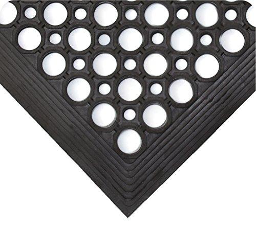Wearwell 468.12x3x10BK WorkRite II Mat, 3' x 10' x 0.5