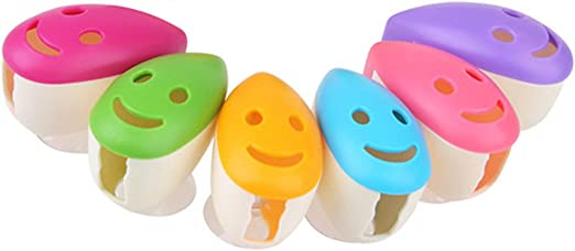 4x Supports /à ventouse pour brosse /à dents Rosenice