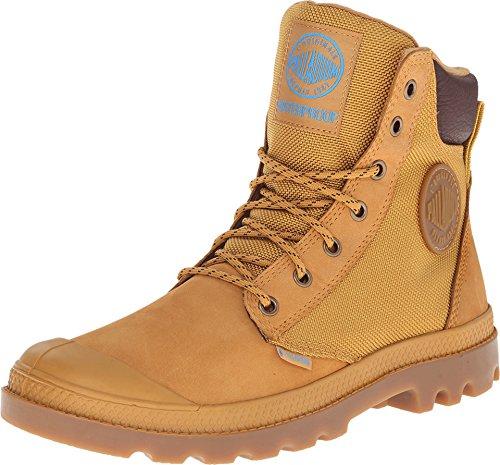 Palladium Pampa Sport Cuff Wpn Boot,Amber Gold/Mid Gum,US 14 M