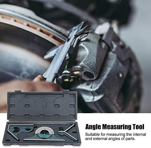Combination Angle Ruler 180 Degree Combination Ruler Angle Measuring Tool Combination Ruler Set for DIY Tools Workshop