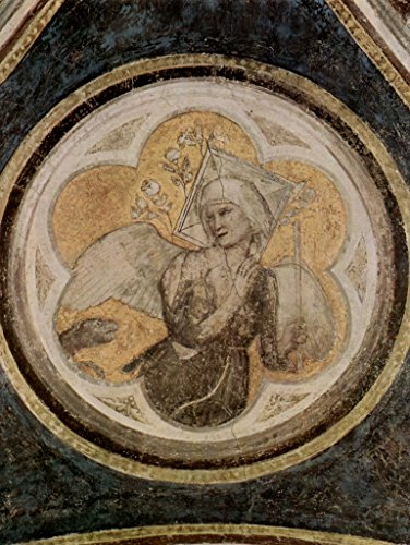 Lais Jigsaw Giotto di Bondone - Fresco Cycle with Scenes from The Life of St. Francis, Bardi Chapel, Santa Croce in Florence, Allegory of Chastity 2000 Pieces