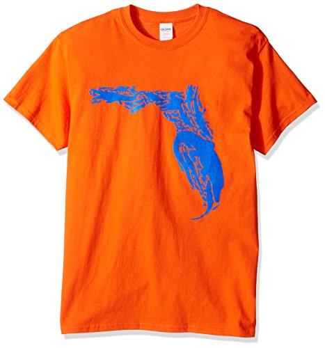 OVB Men's Florida Gator Short Sleeve T-Shirt, Orange, - Gator Tee Florida
