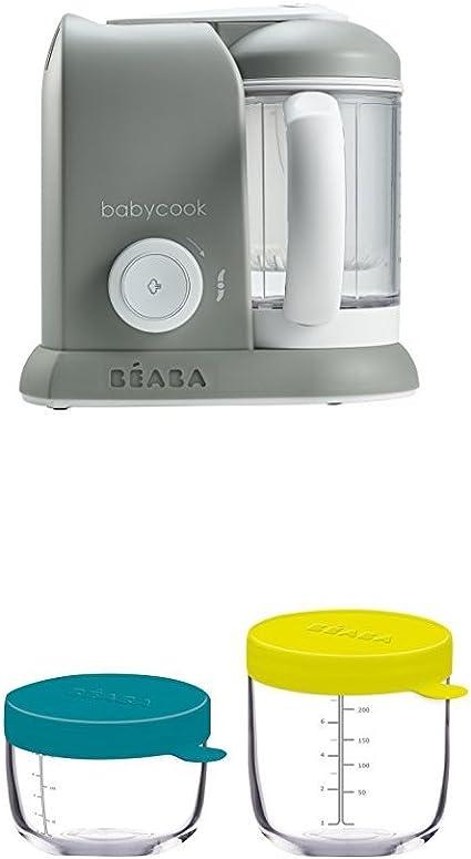 Livre de Recettes B/éb/é Mes Premiers Repas avec Babycook Noir B/ÉABA Babycook Solo Robot B/éb/é 4 en 1 Mixeur-cuiseur