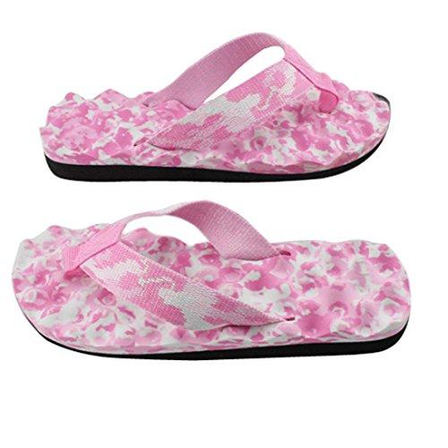 Rose Outdoor Fortan Tongs Et Été Sandales Flip Slipper Femmes flop Chaussures Indoor Wwqx6P87wn