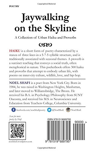Jaywalking on the Skyline: A Collection of Urban Haiku and