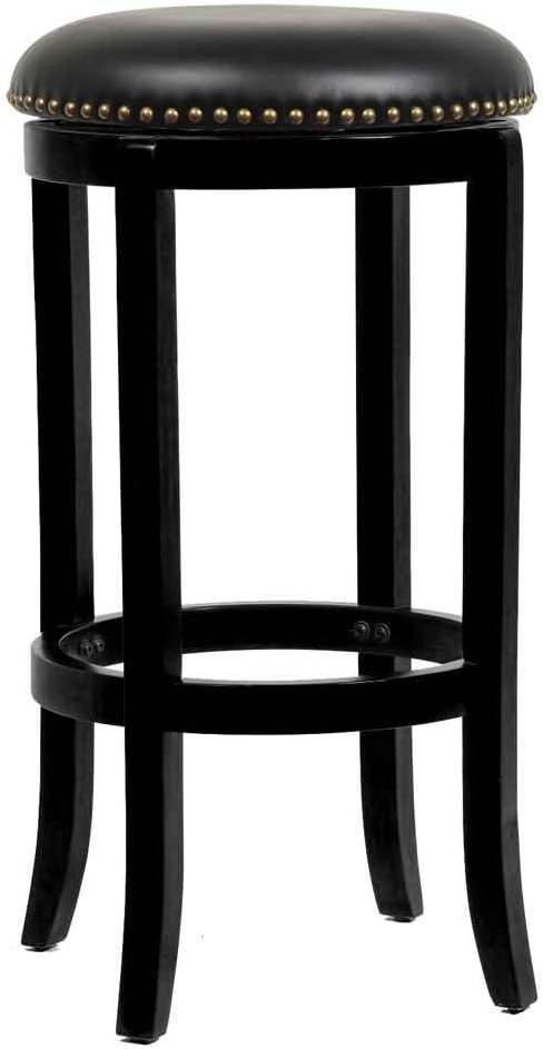29 in. Cordova Swivel Stool – Black