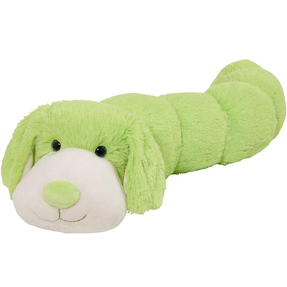 Pillow Pets BodyPillars Neon Dog - 30'' Snuggly Stuffed Animal Plush Body Pillow by Pillow Pets