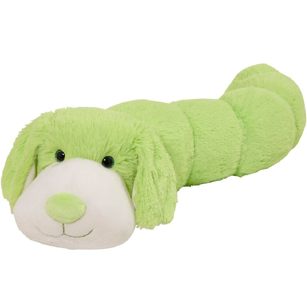 Pillow Pets BodyPillars Neon Dog - 30'' Snuggly Stuffed Animal Plush Body Pillow