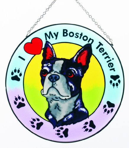 (Boston Terrier Suncatcher)