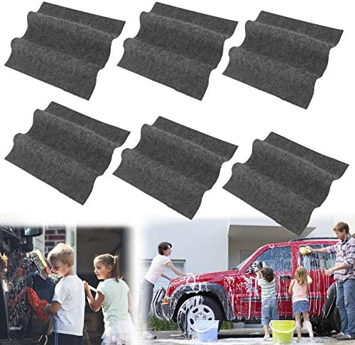 6 PCS Nano Sparkle Cloth, Nano Car Magic Cloth, Multipurpose Scratch Repair Cloth for Repairing Car Scratches and Surface Polishing Easily Repair Light Scratch Repair for Cars